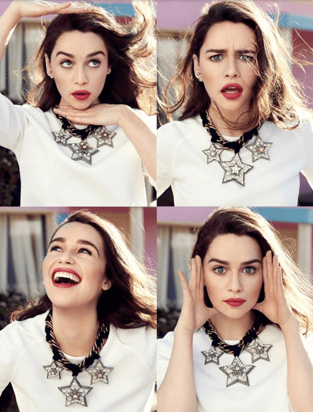 Emilia Clarke photos mode  Cliquez pour Agrandir Emilia Clarke Boyfriend 2014