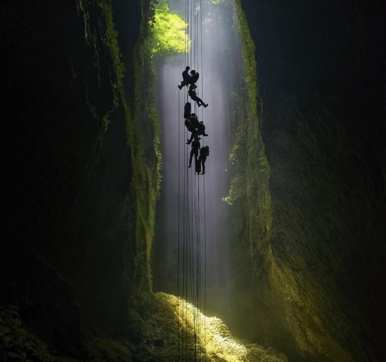 Descent into Heaven by Ben Babusis