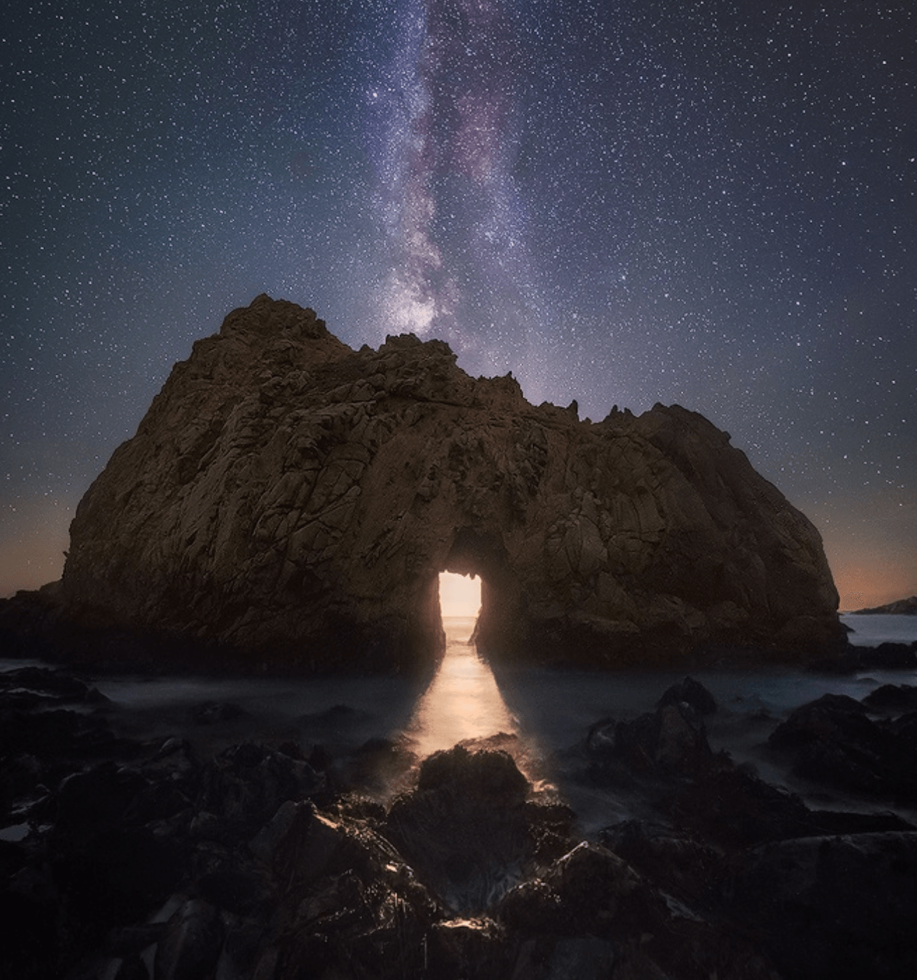 Temple of Moonlight by Michael Shainblum